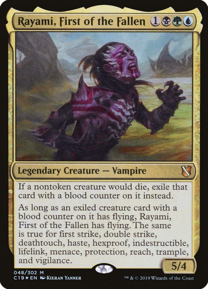 Rayami, First of the Fallen mtg