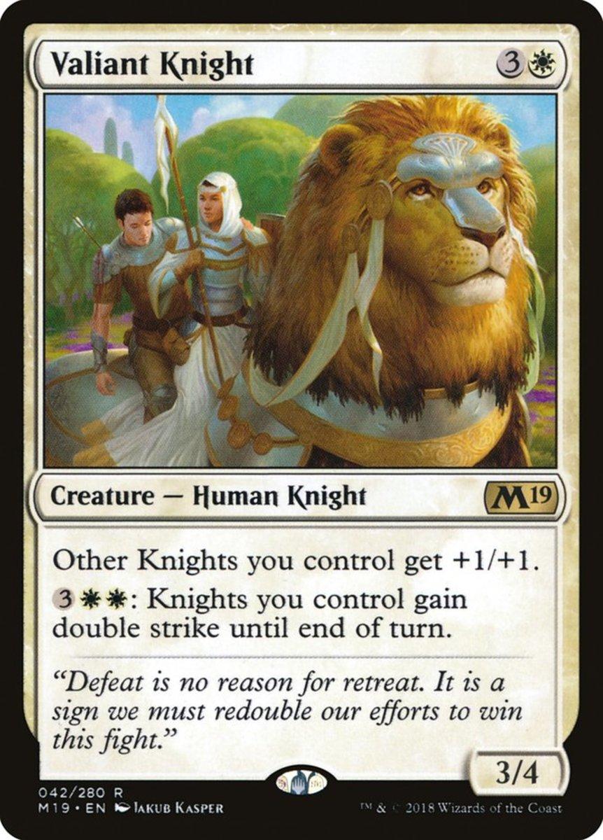 Valiant Knight mtg