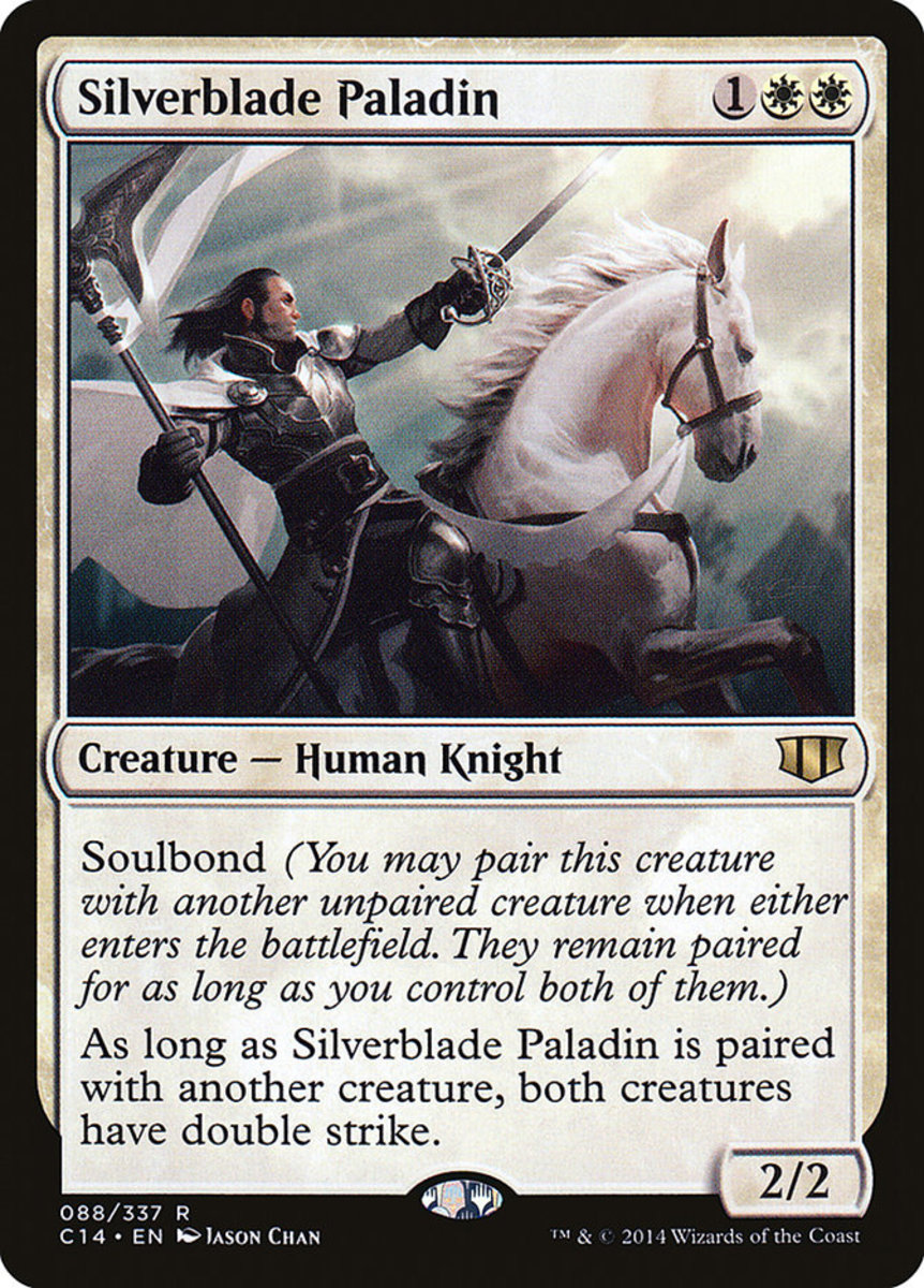 Silverblade Paladin mtg