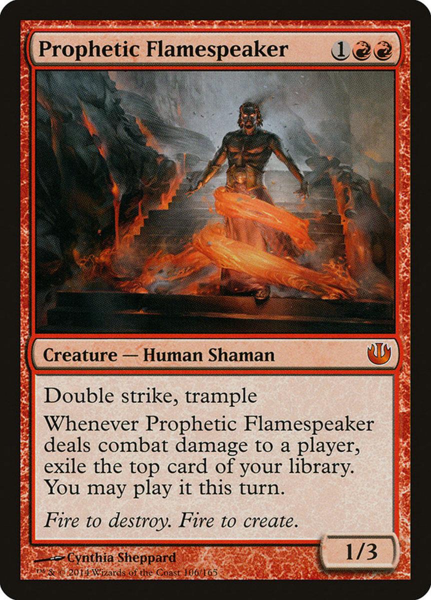 Prophetic Flamespeaker mtg