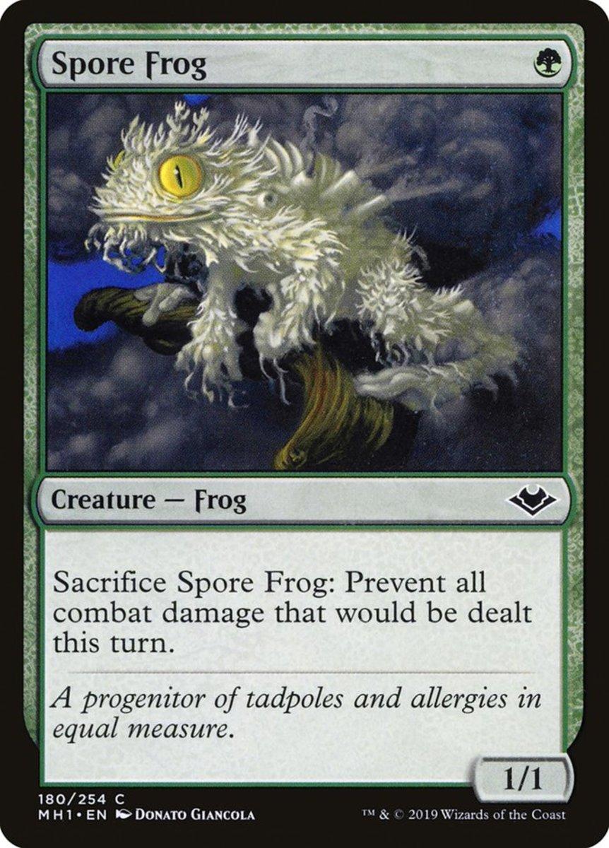 Spore Frog mtg