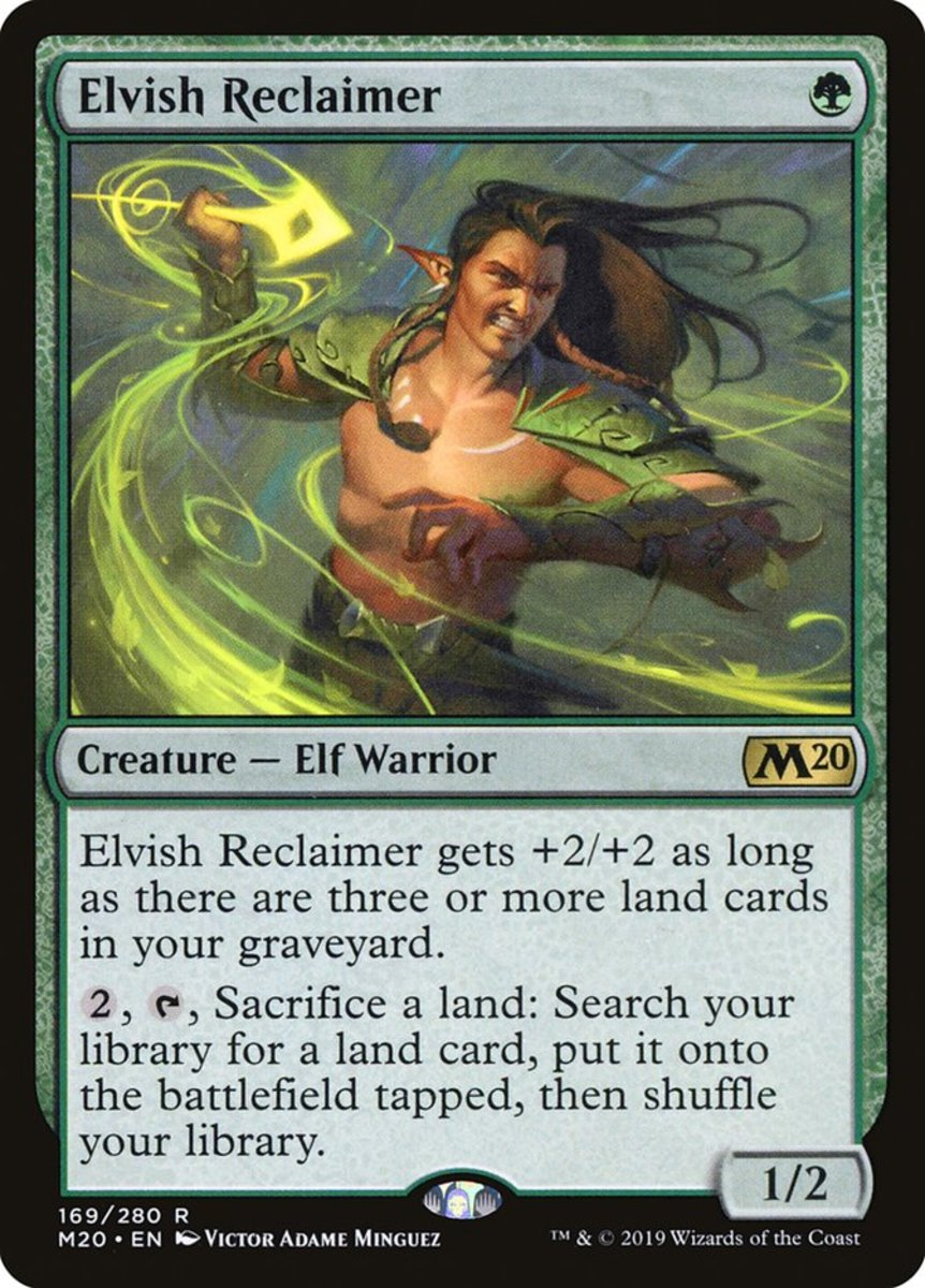 Elvish Reclaimer mtg