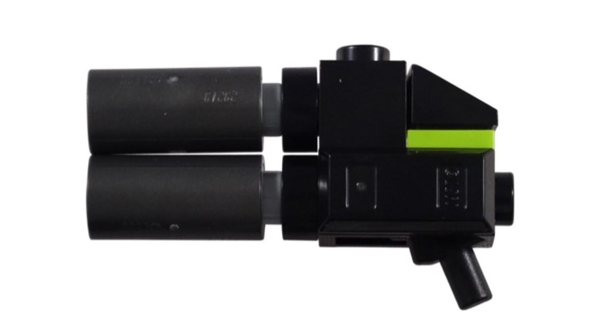 Rex's Gun from LEGO Rex's Plantimal Ambush Polybag set 30460