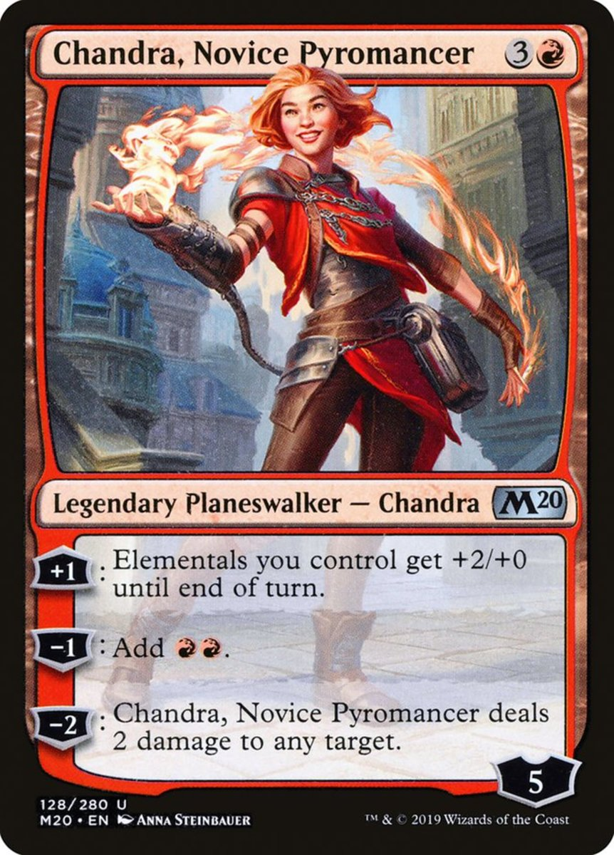 Chandra, Novice Pyromancer mtg