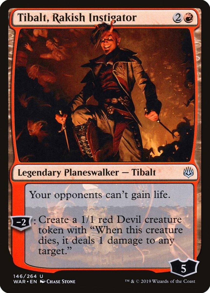 Tibalt, Rakish Instigator mtg