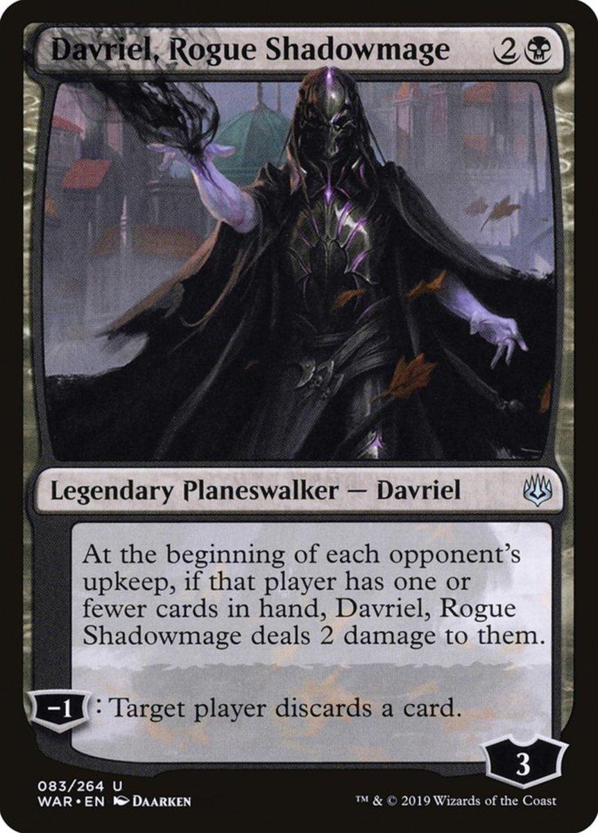 Davriel, Rogue Shadowmage mtg