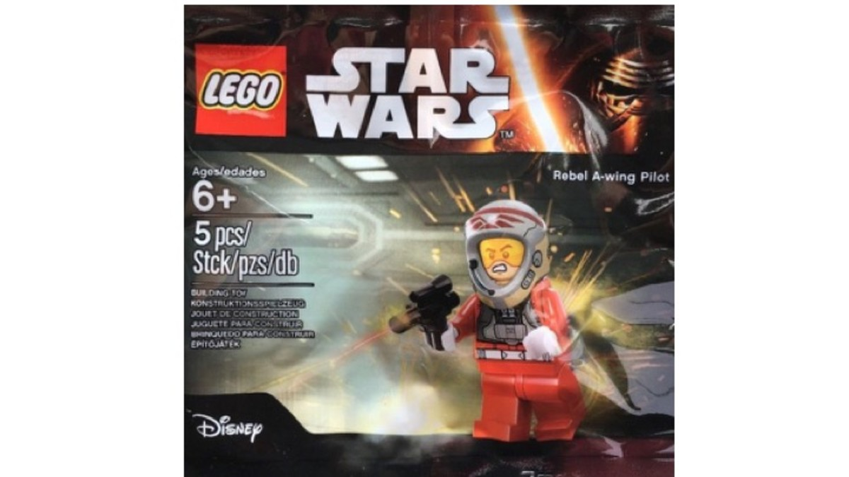 LEGO Star Wars Rebel A-Wing Pilot 5004408 Polybag Review