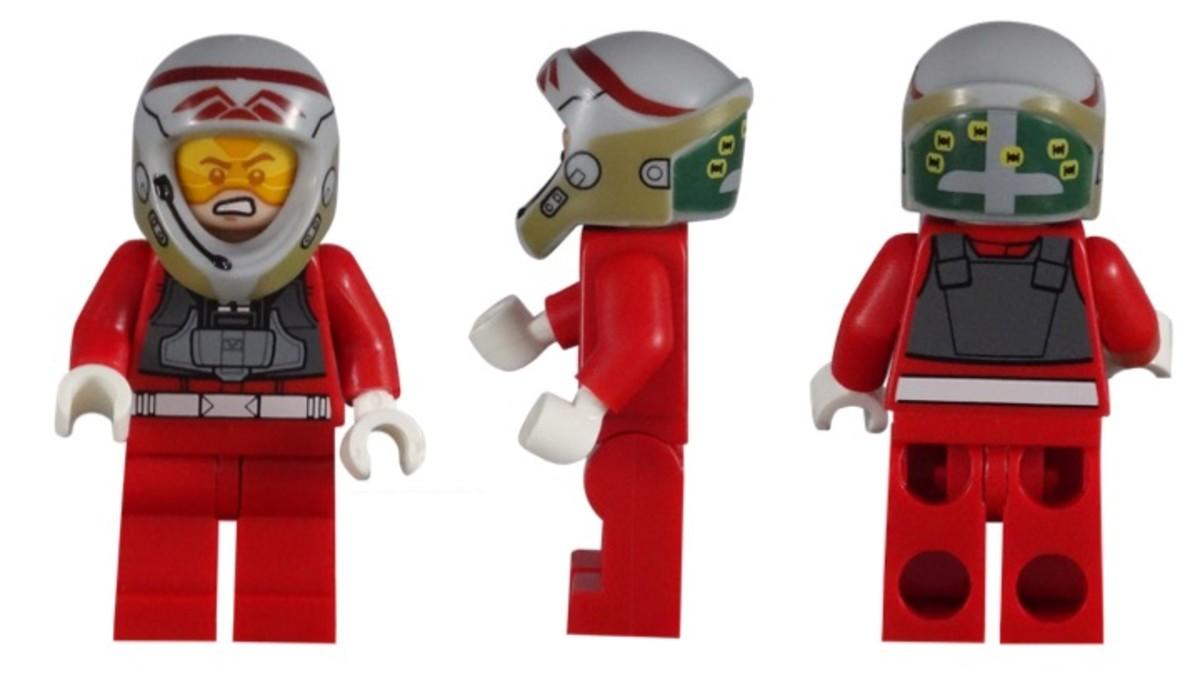 LEGO Star Wars Rebel A-Wing Pilot 5004408 Minifigure