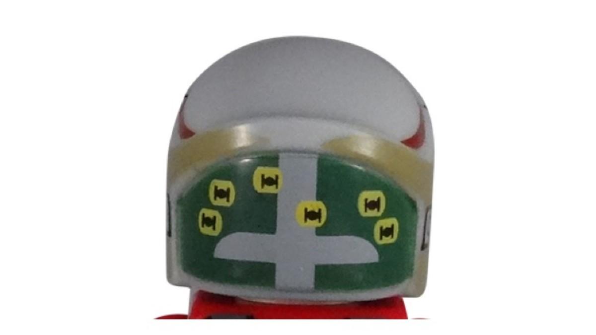 LEGO Star Wars Rebel A-Wing Pilot Minifigure Helmet Back