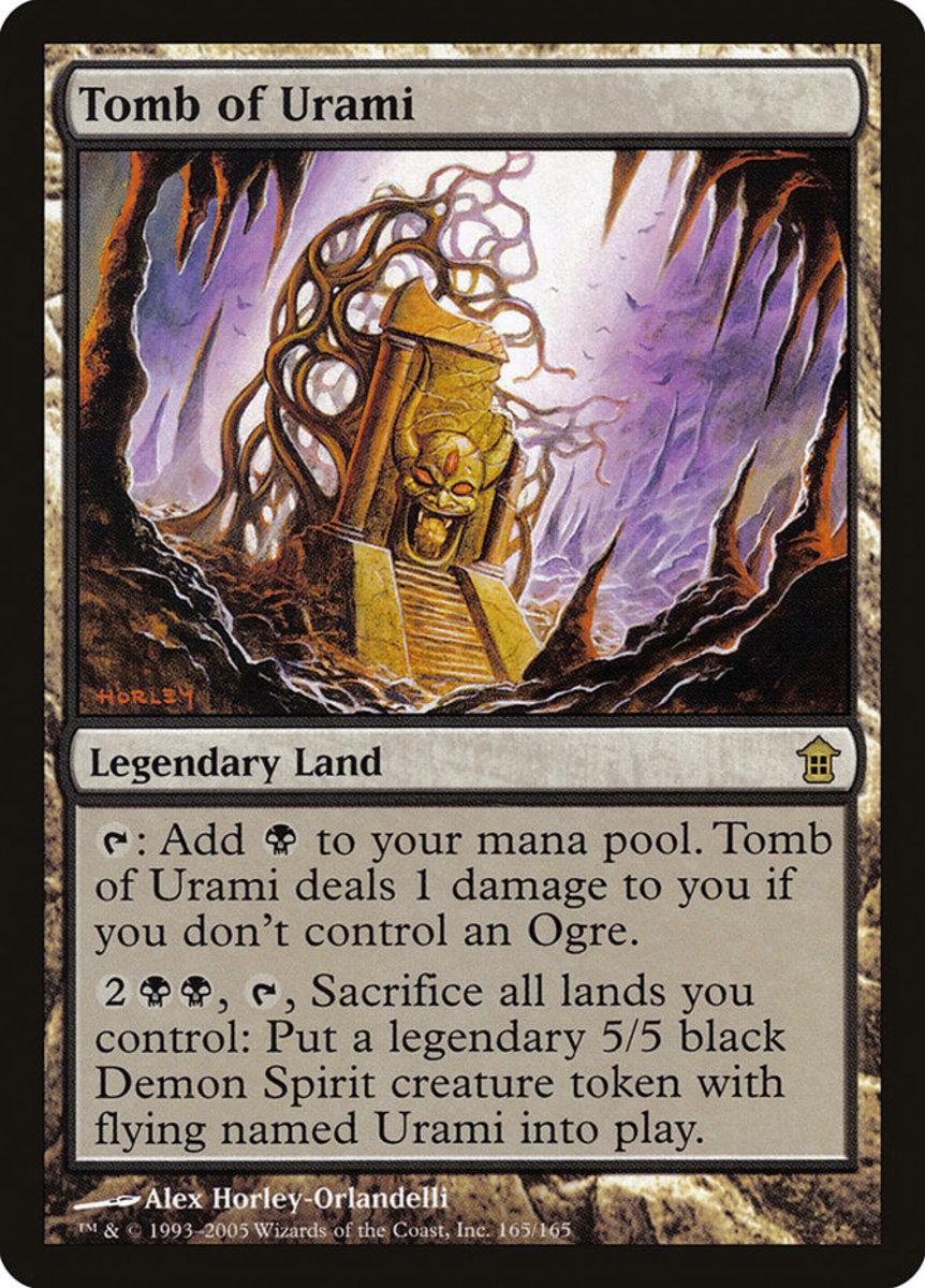 Tomb of Urami mtg