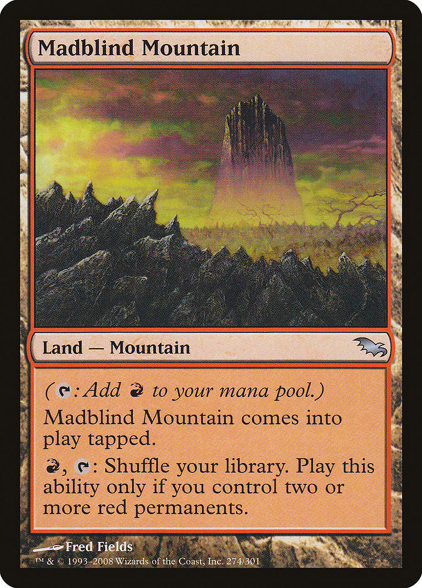 Madblind Mountain mtg