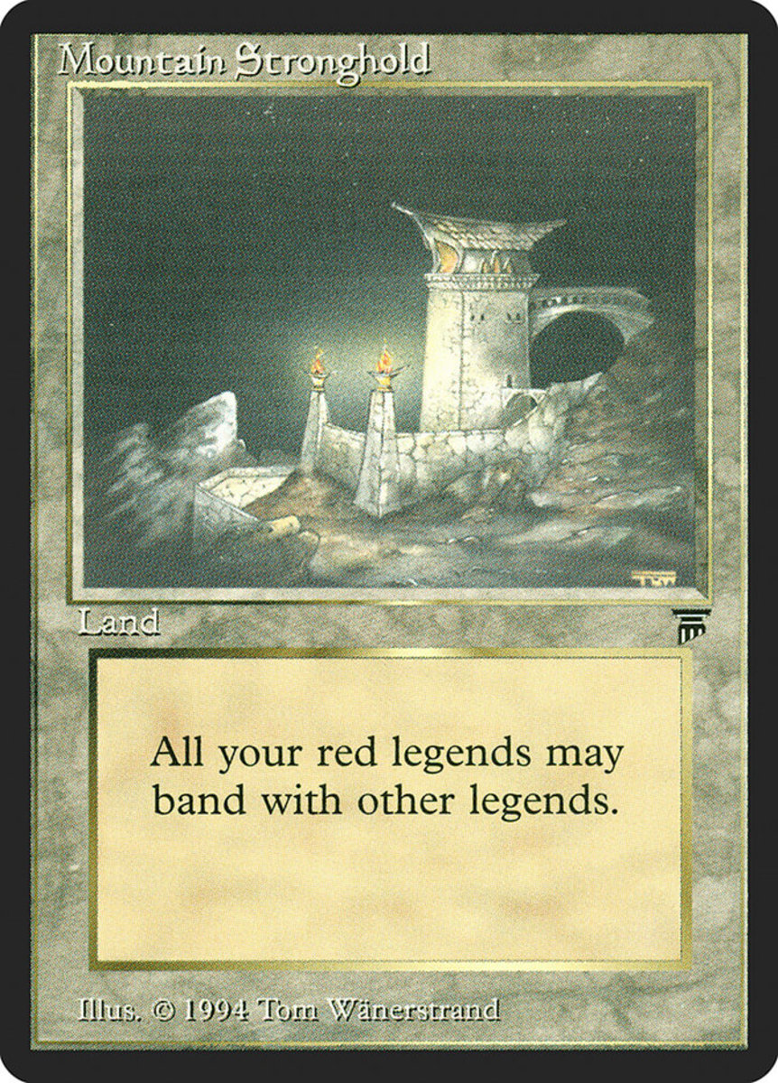 Mountain Stronghold mtg