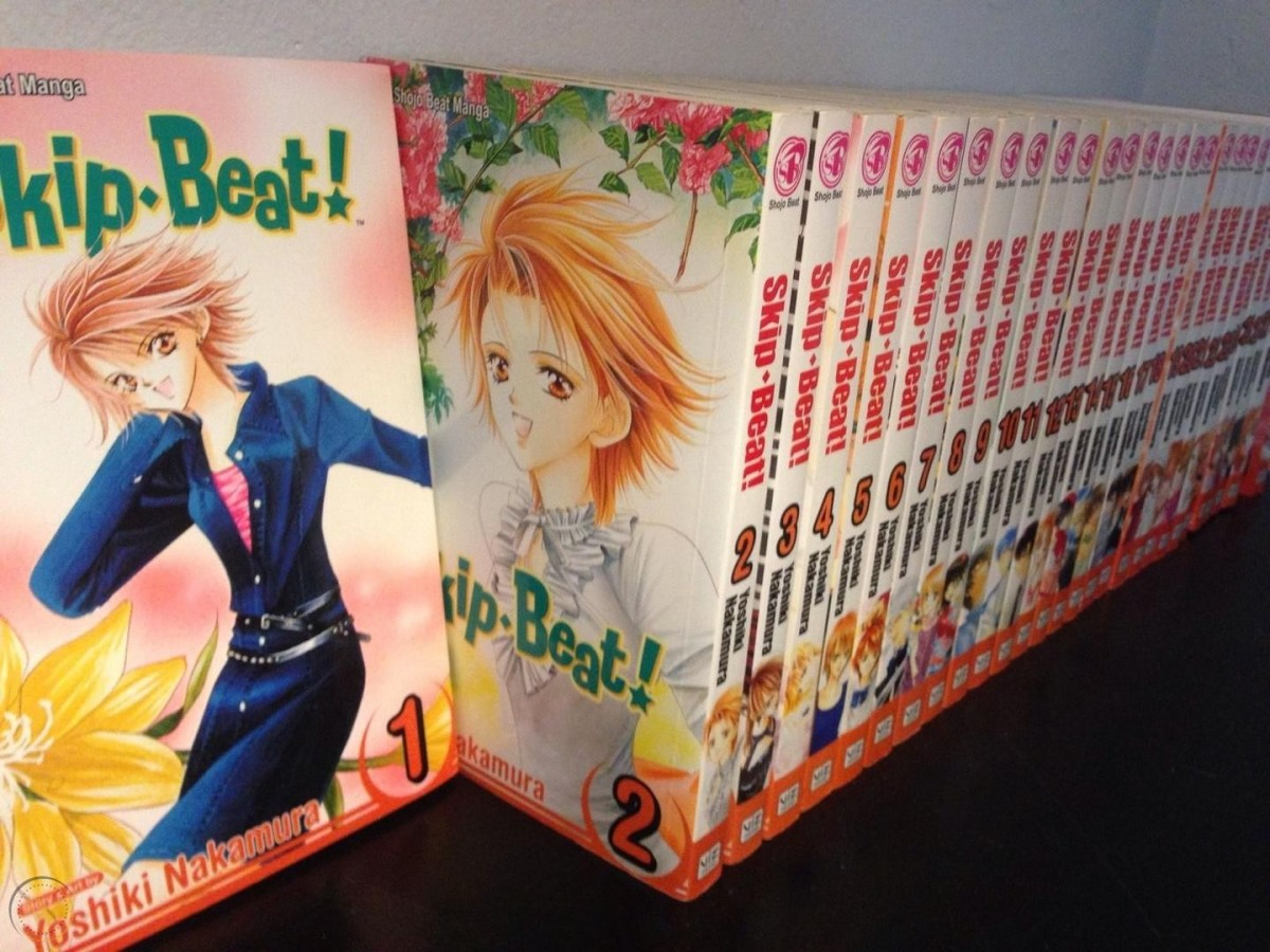 """A collection of the long (and still ongoing!) """"Skip Beat"""" manga."""