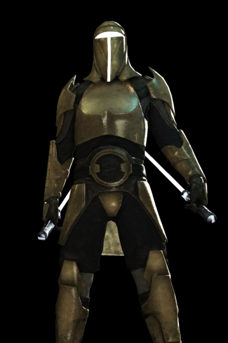 Member of the elite Saber Guard; one of the fiercest warriors of the Imperial military.