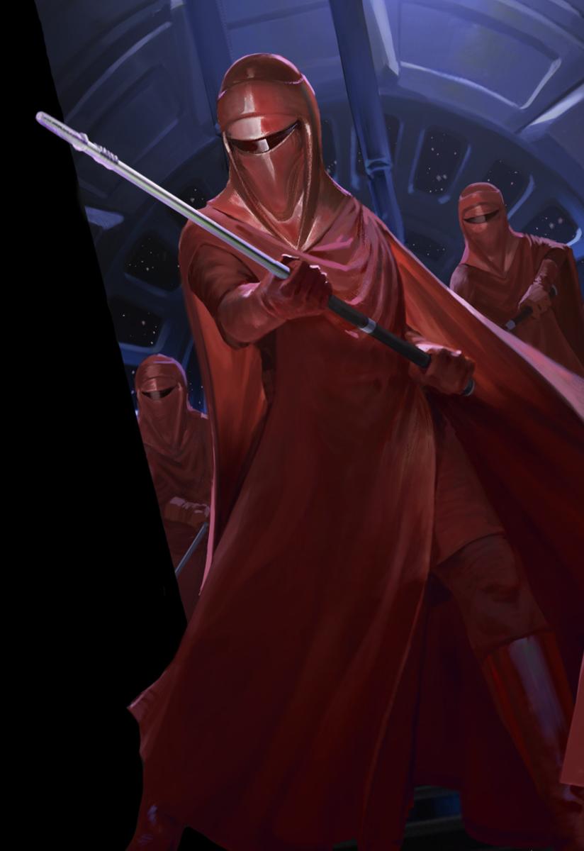 The Emperor's Royal Guard.