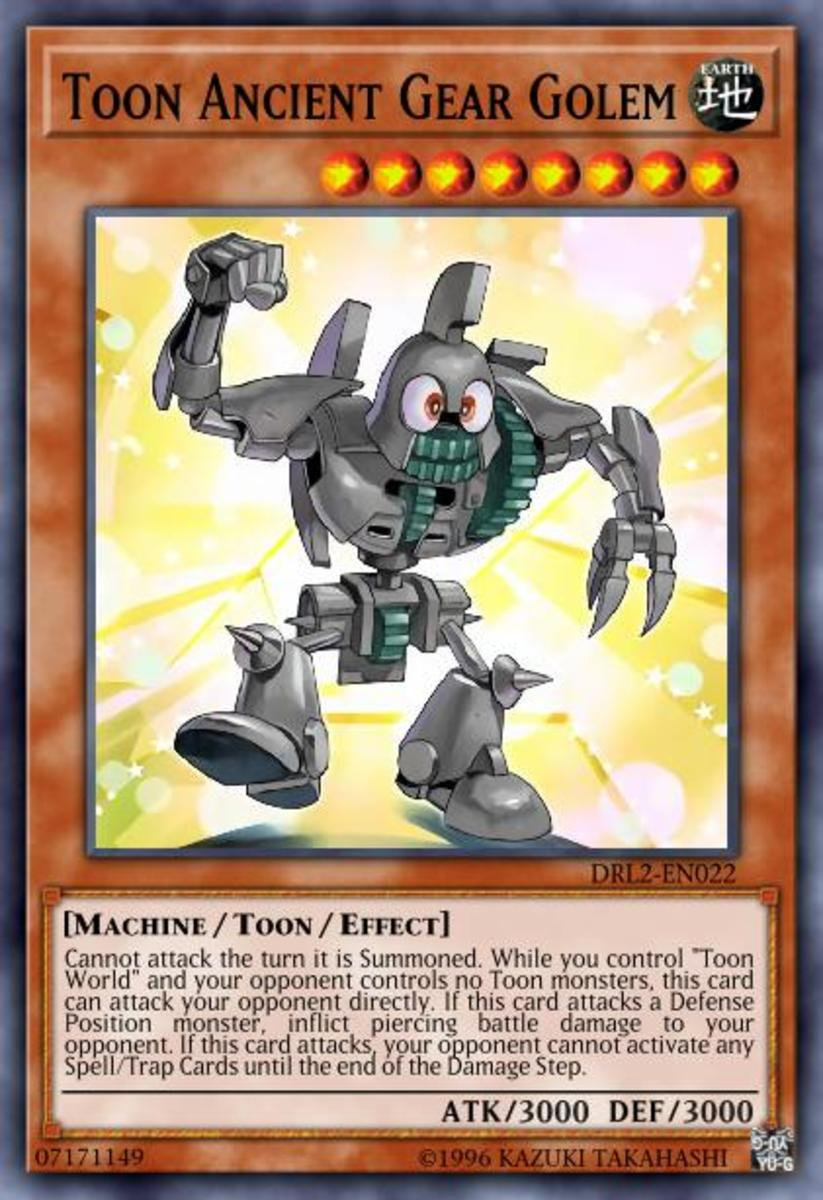 Toon Ancient Gear Golem