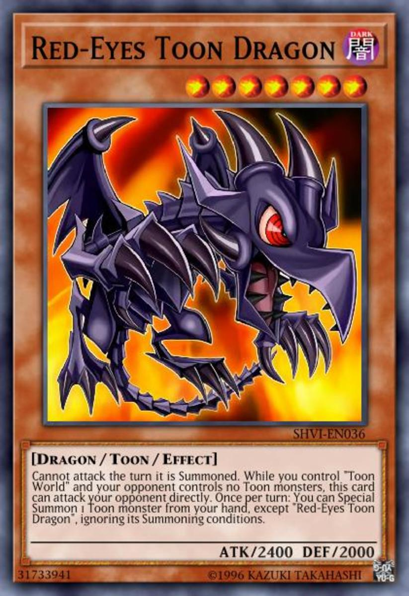Red-Eyes Toon Dragon