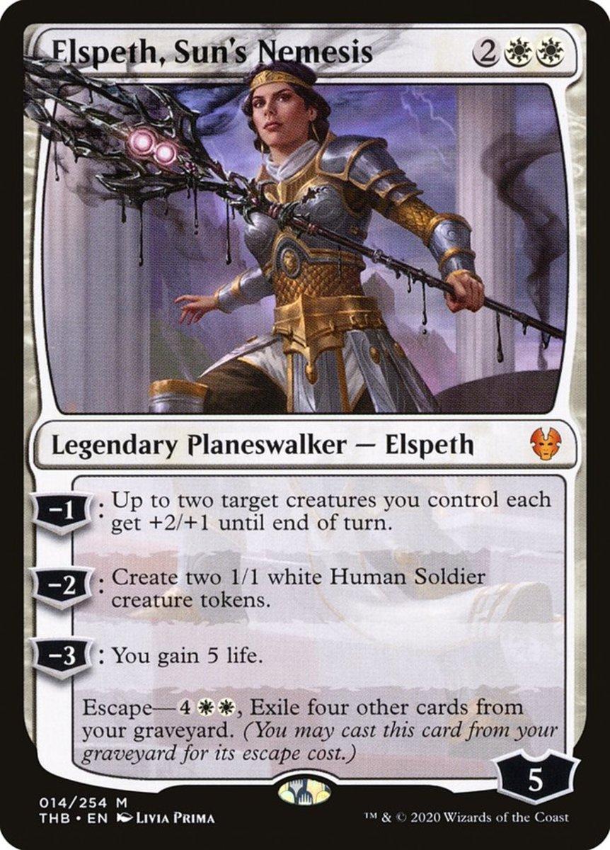 Elspeth, Sun's Nemesis mtg