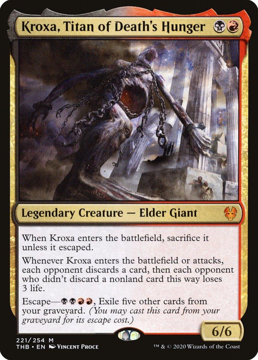 Kroxa, Titan of Death's Hunger mtg