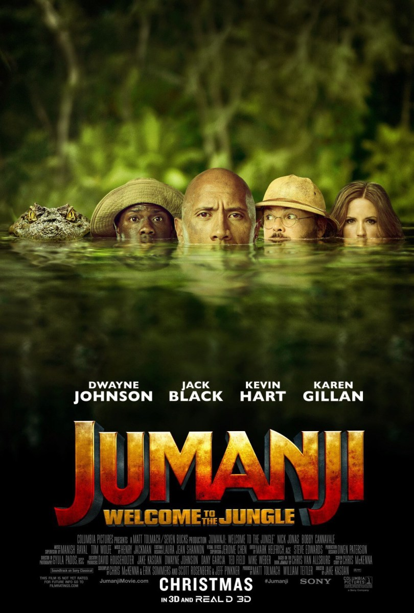 Jumanji - Welcome to the Jungle: Movie Review