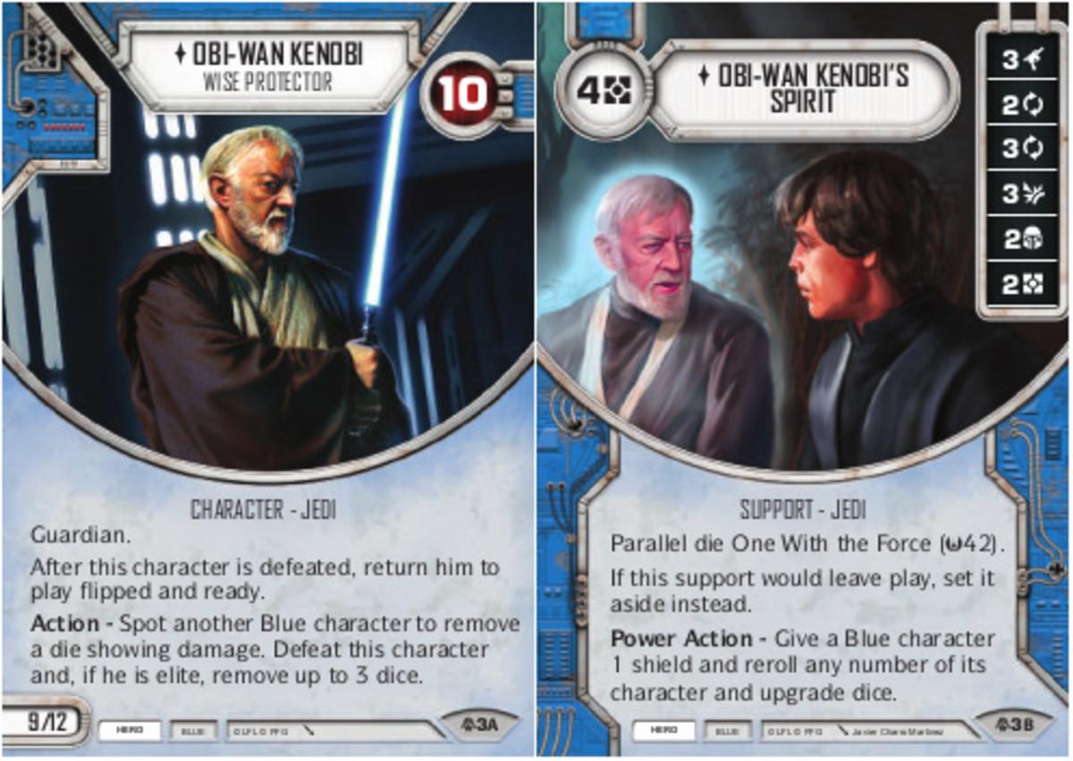Obi-Wan Kenobi - Wise Protector/Obi-Wan's Spirit
