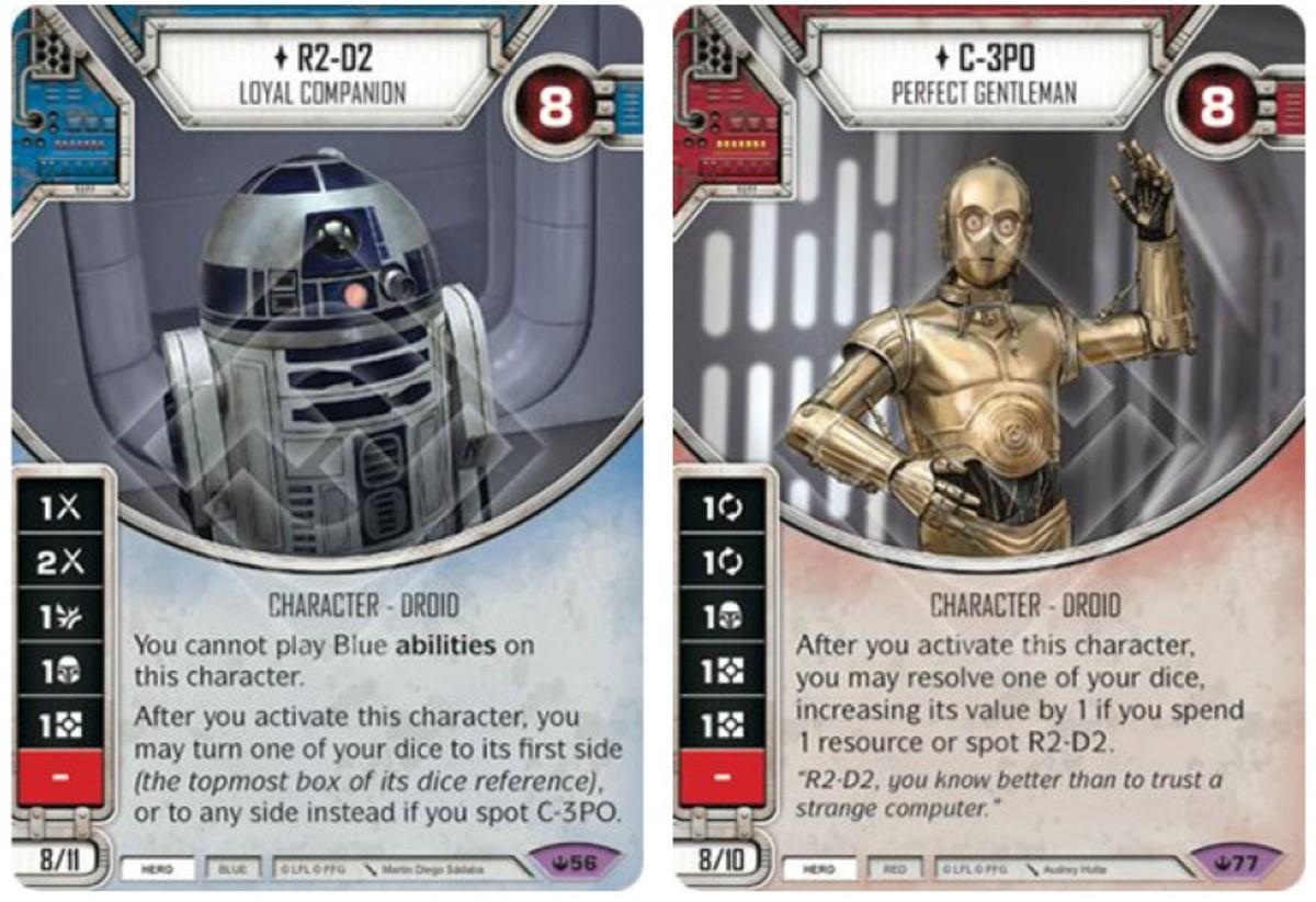 C-3PO - Perfect Gentleman/R2-D2 - Loyal Companion