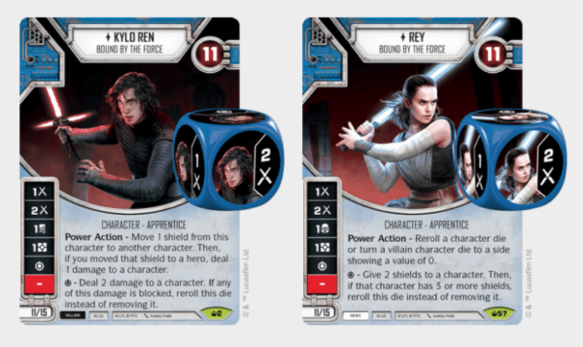 Kylo Ren Bound by the Force/Rey Bound by the Force