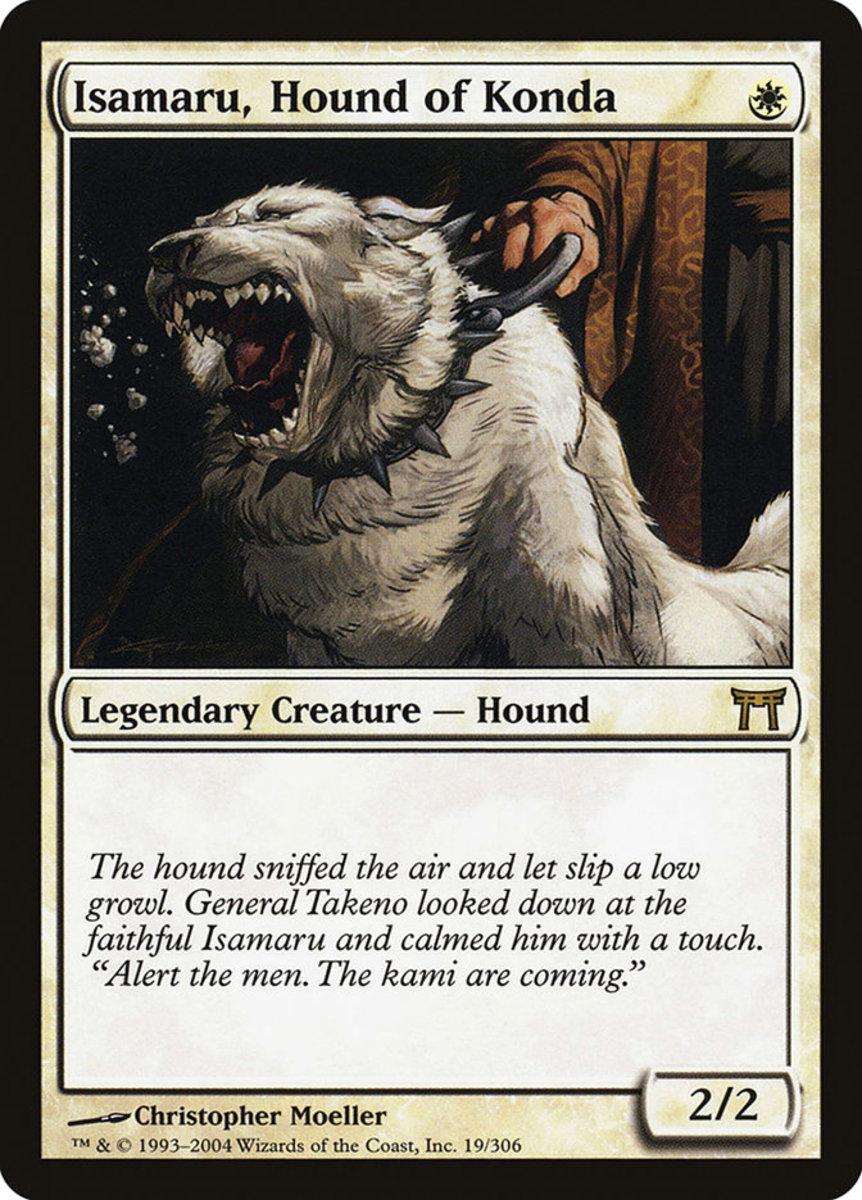Isamaru, Hound of Konda mtg