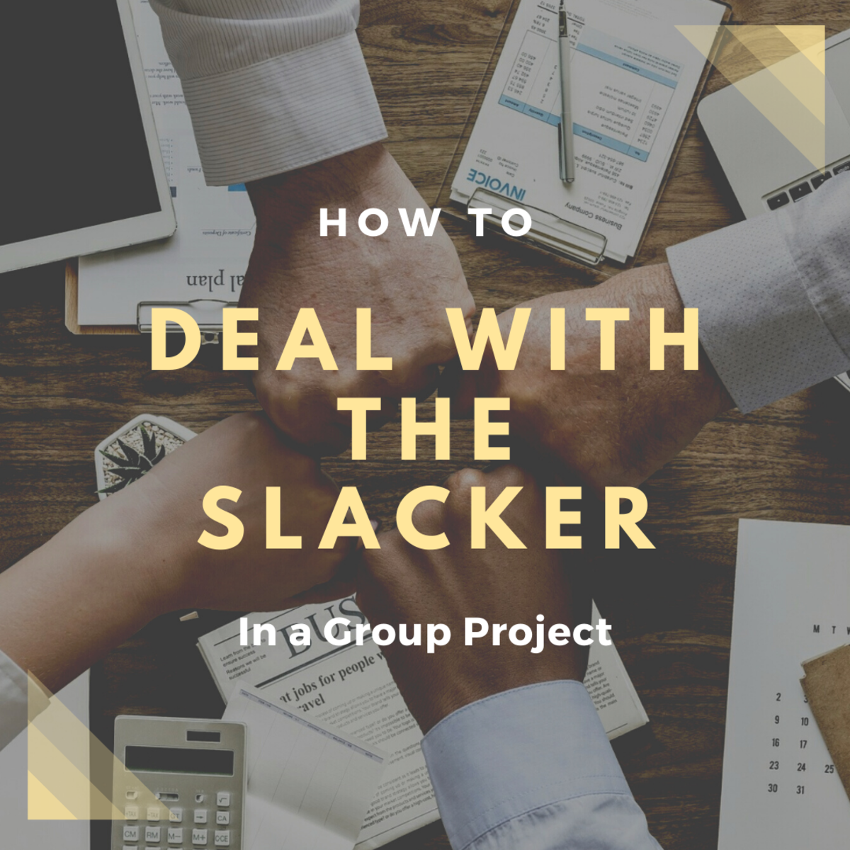 Learn how to deal with the slacker in a productive way.