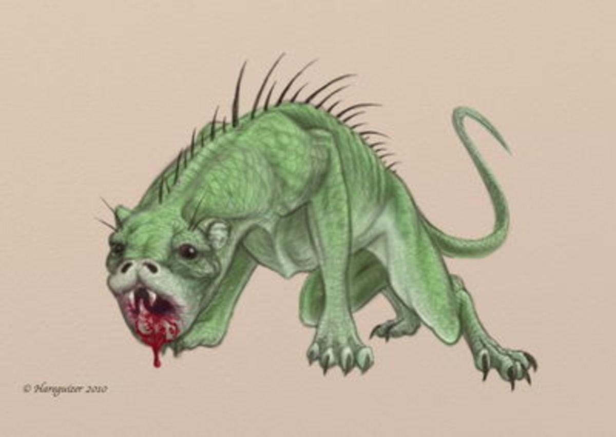An artist's depiction of the Grunch.