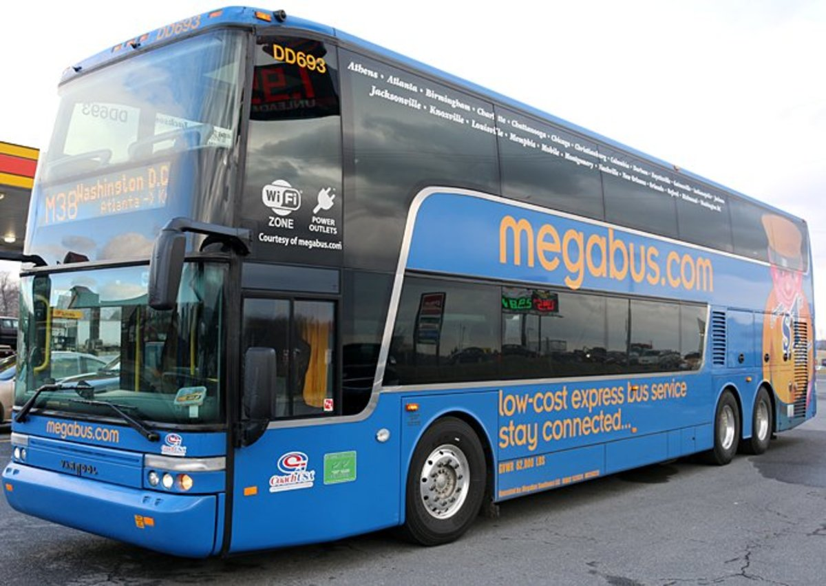 10 Tips for Your First Megabus Trip