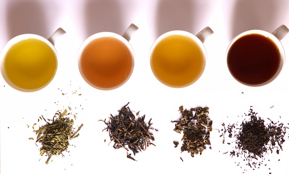 Spices can be used to dress up a cup of tea.