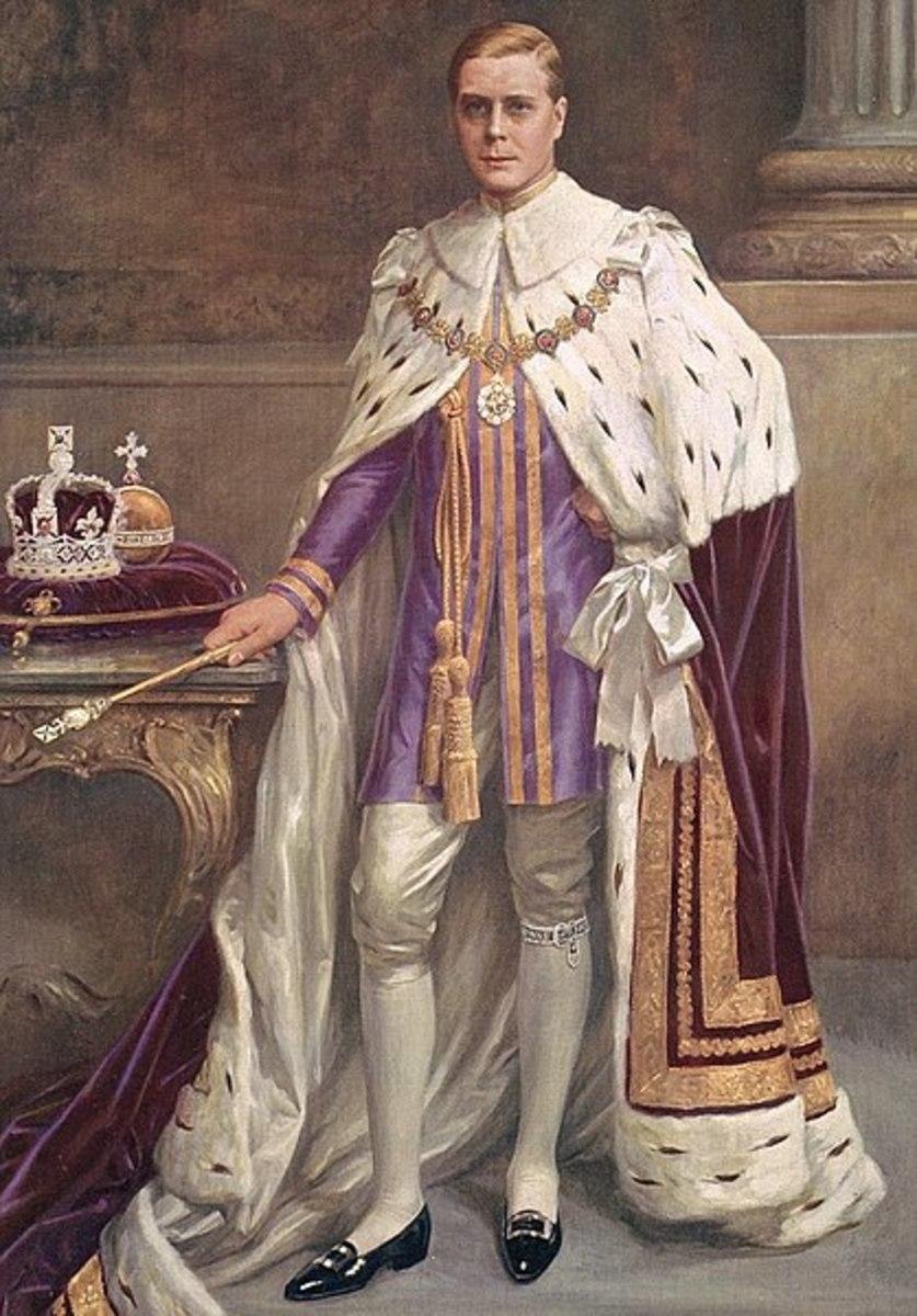 King (briefly) Edward VIII.