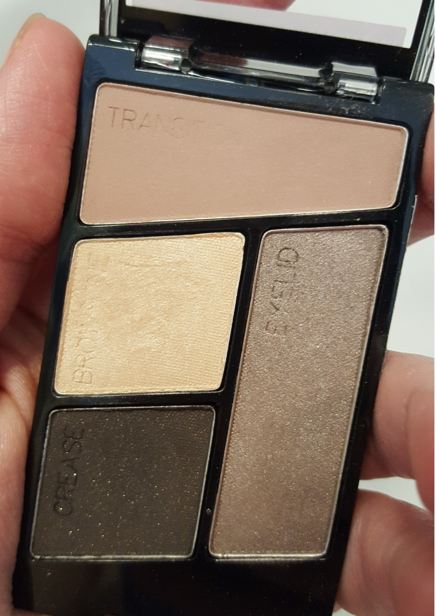 Review and Swatches: Wet n Wild Color Icon Eye Shadow Quad in Silent Treatment