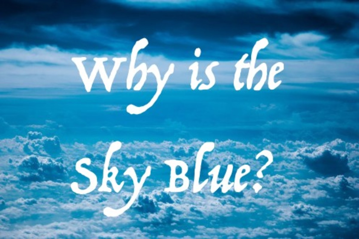Why is the sky blue? Hint: It has nothing to do with ozone!