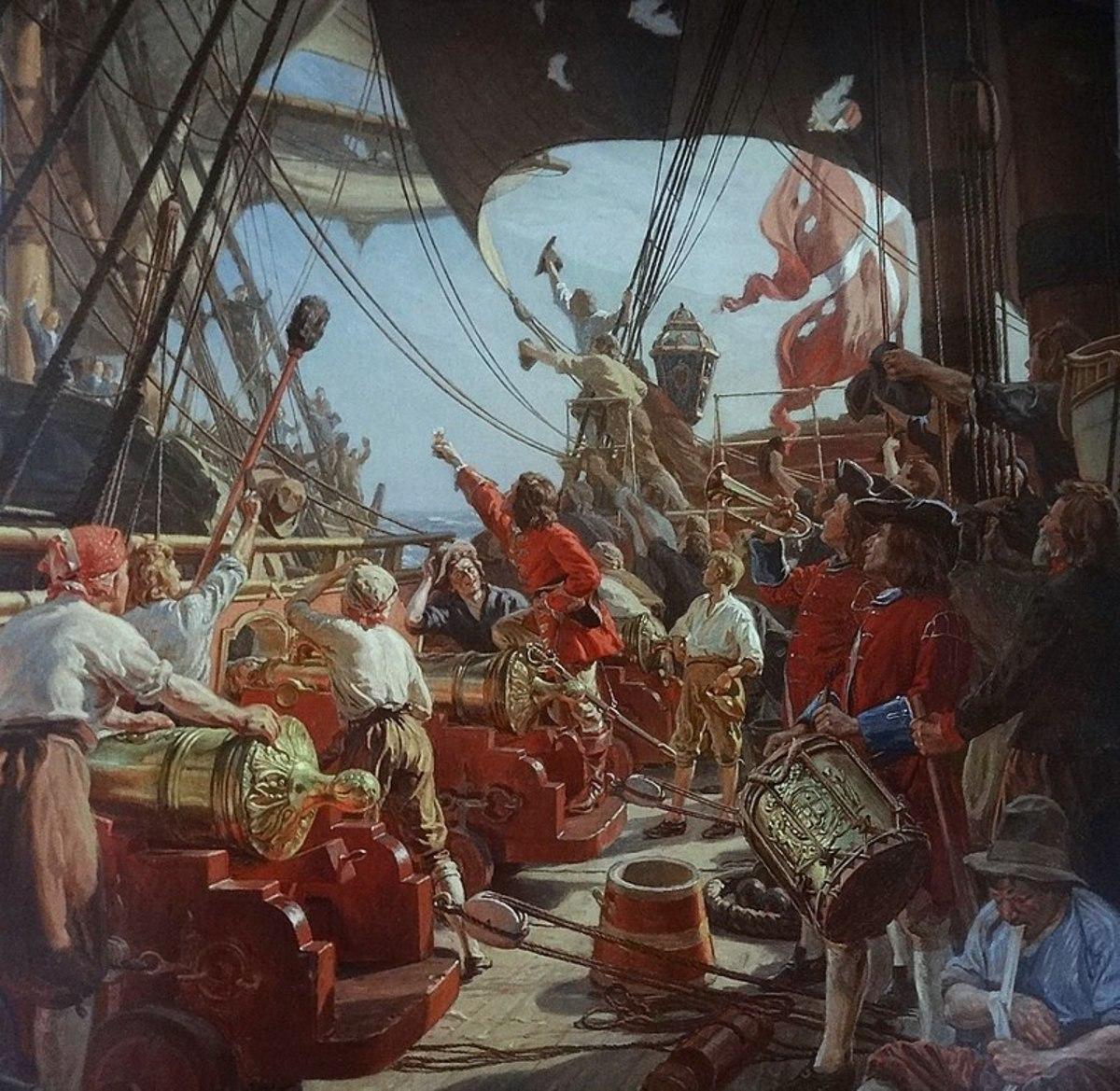 Queen Elizabeth's Pirates: Heroes or Villains?