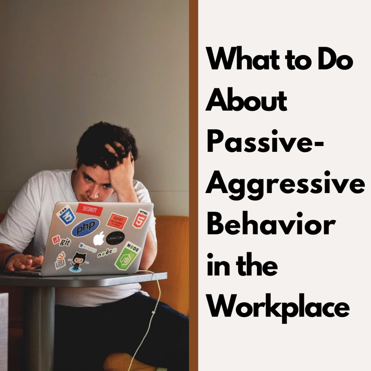 Read on to learn how to recognize and deal with passive-aggressive behavior in the workplace.