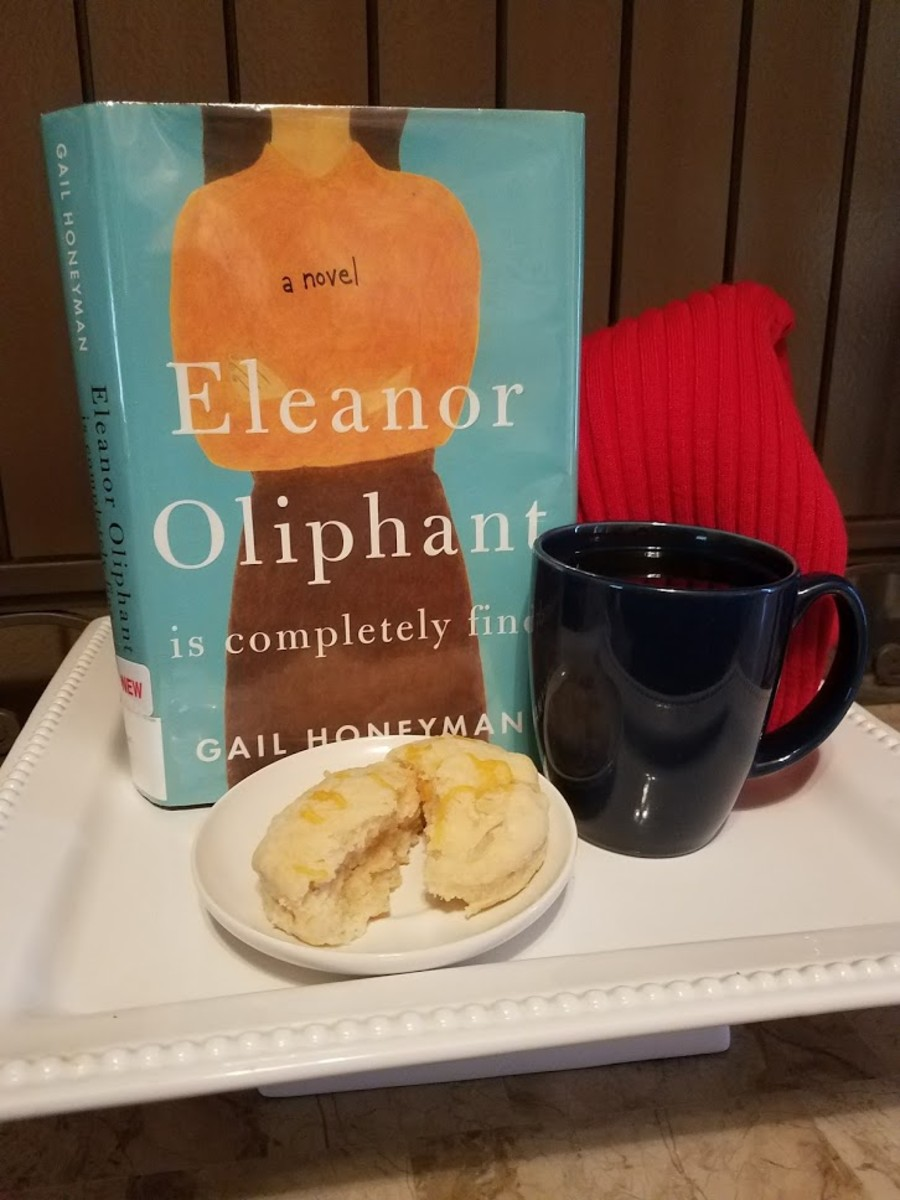 Eleanor Oliphant Is Completely Fine Book Discussion and Easy Scone Themed Recipe