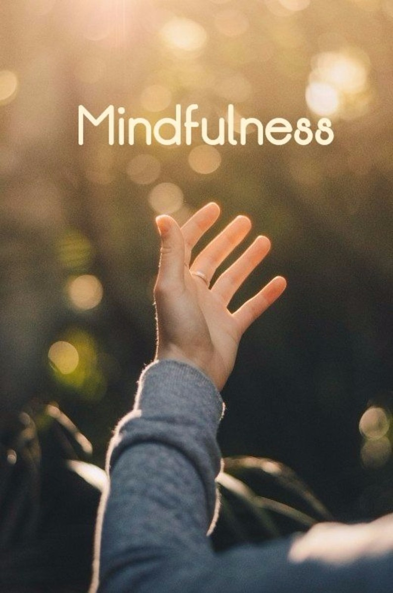 Mindfulness can be like a beam of clarity to light the path.