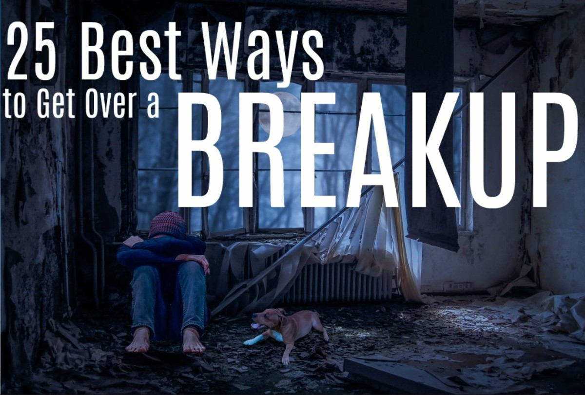 25 Best Ways to Get Over a Breakup