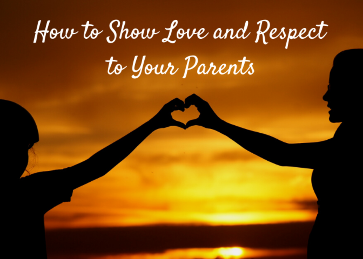 Explore some ways to show your parents how much you love, honour and respect them.