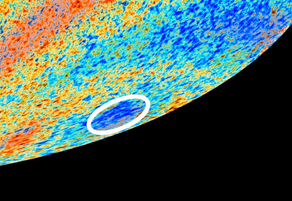 Does the Universe Have a Supervoid? Explaining the Cold Spot of the CMB