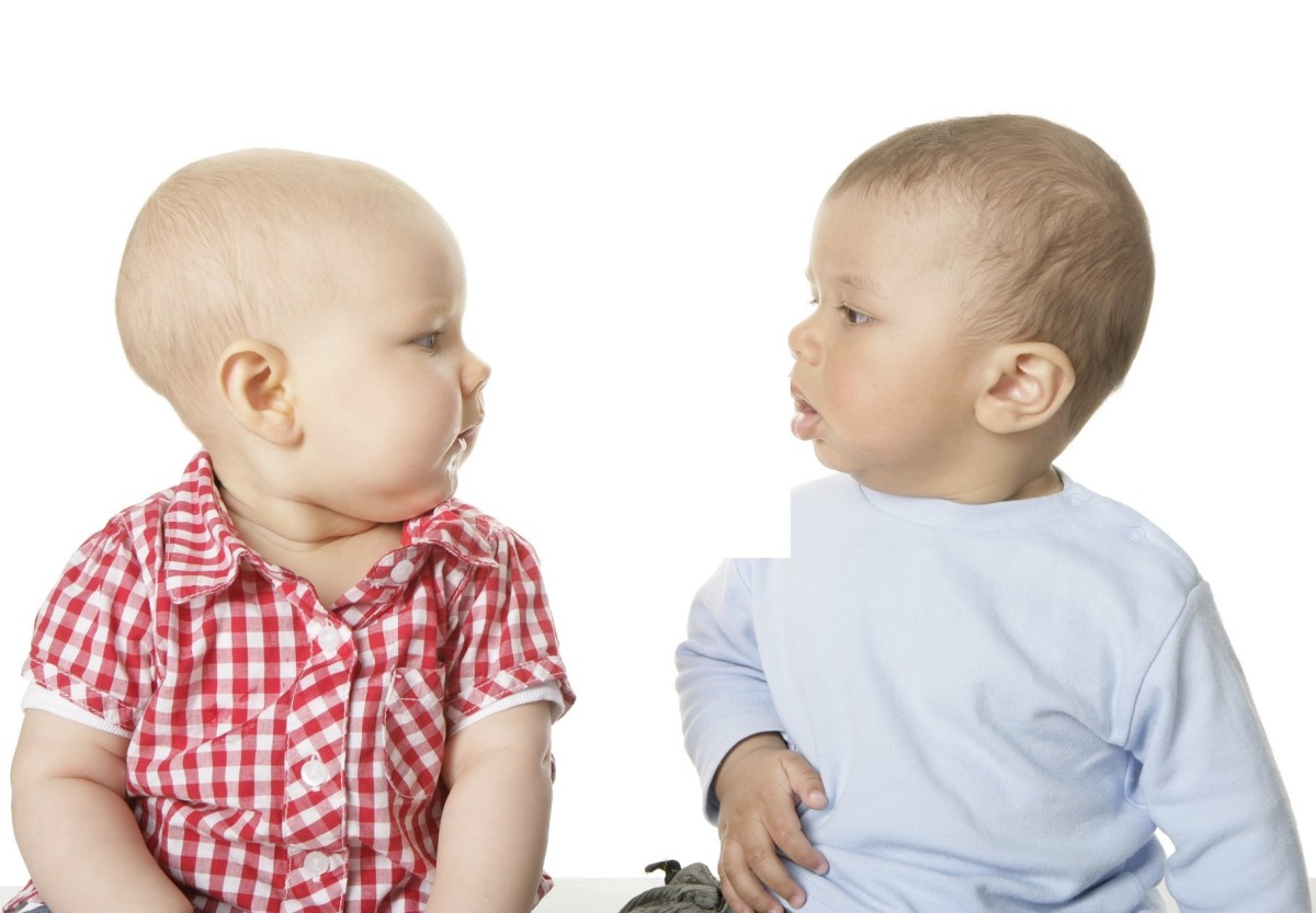 These babies are discussing their parents and what they were thinking when they named them Aberdeen and Glasgow.