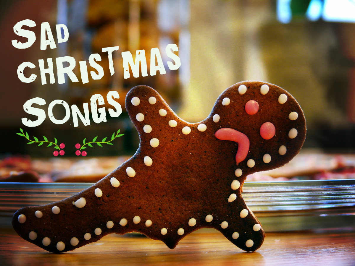 You're not the only one who feels down at Christmastime.  This long list of sad Christmas songs features people who are lonely, poor, homeless, separated from family, or feeling rejected and unloved.