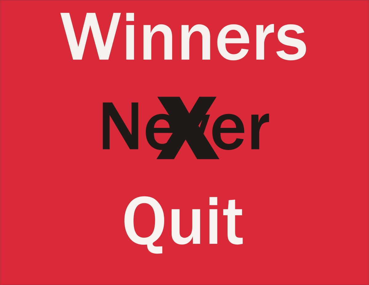Be Your Best Self by Being a Quitter