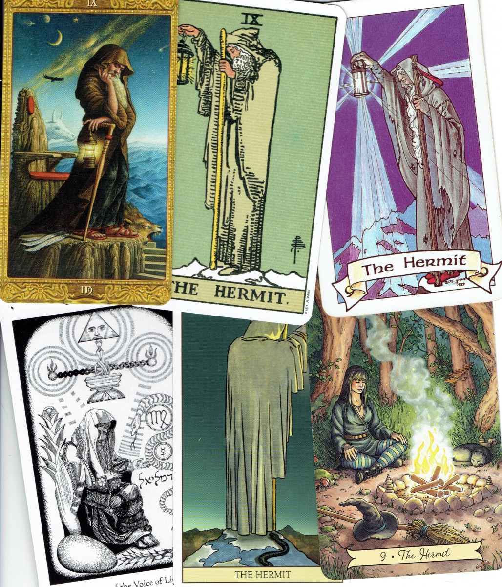 The Tarot Hermit