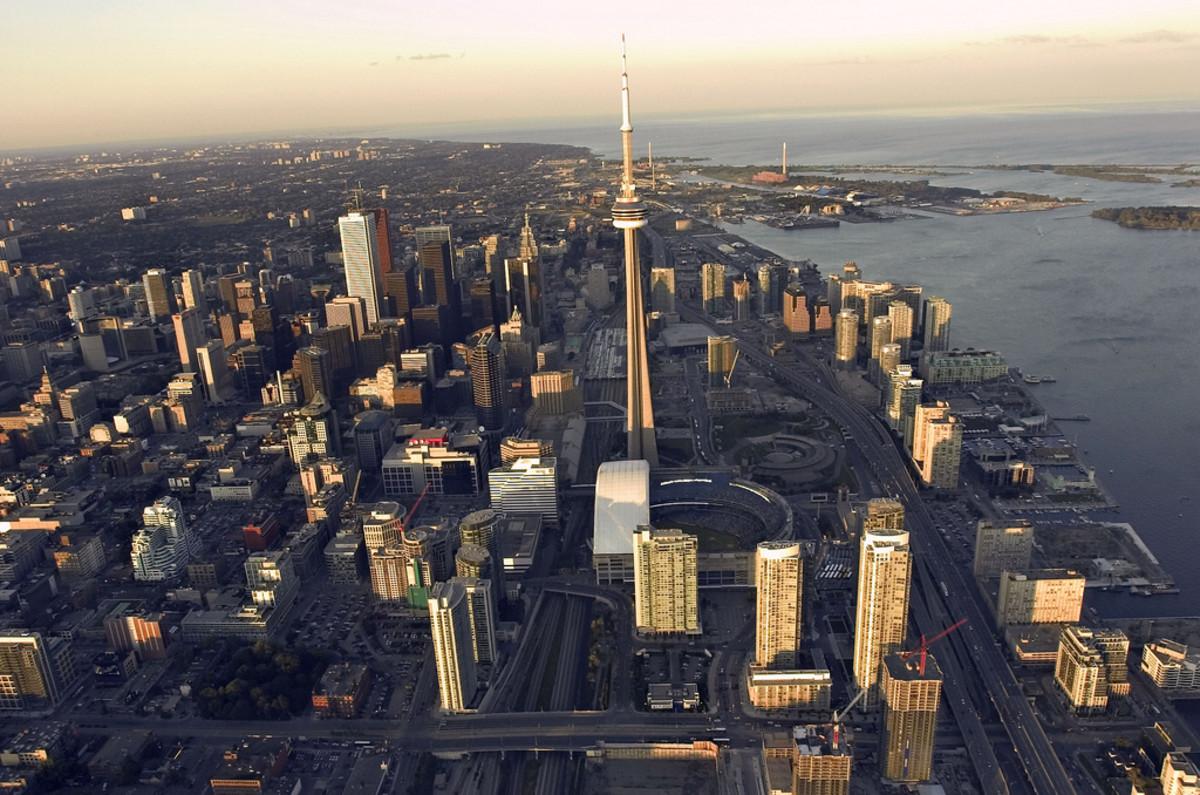 A public domain photograph of Toronto, Ontario, Canada