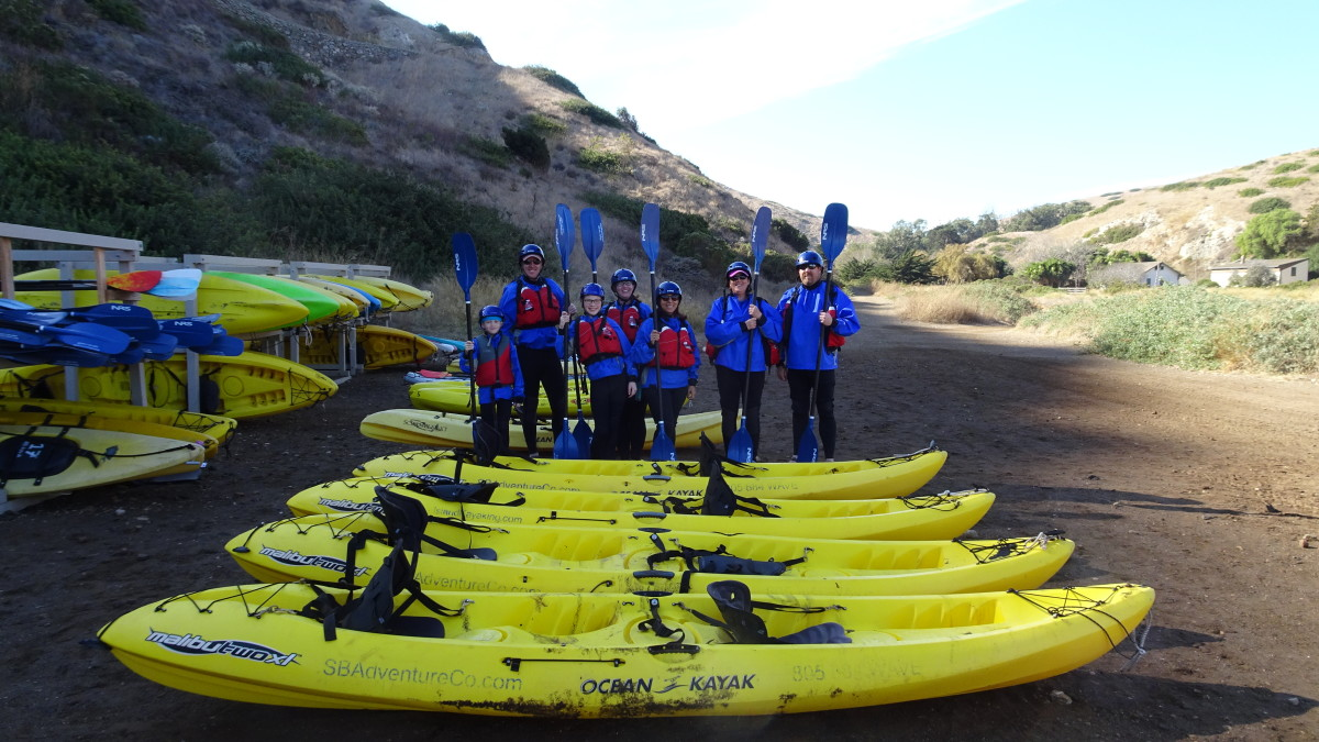 Sea Kayaking in Channel Islands National Park