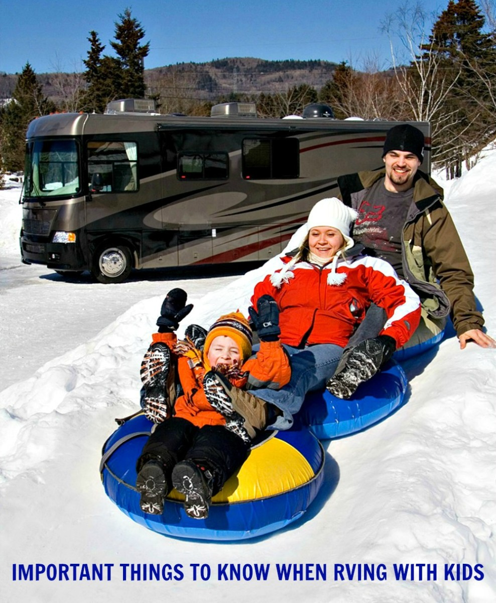 What parents need to know about taking their children on recreational vehicle vacations.