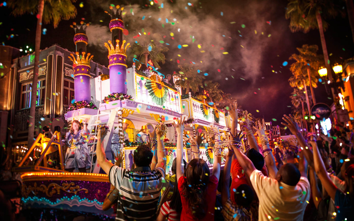 The big night parades that occur just a few days before Mardi Gras are some of the most enjoyable events of Carnival season.